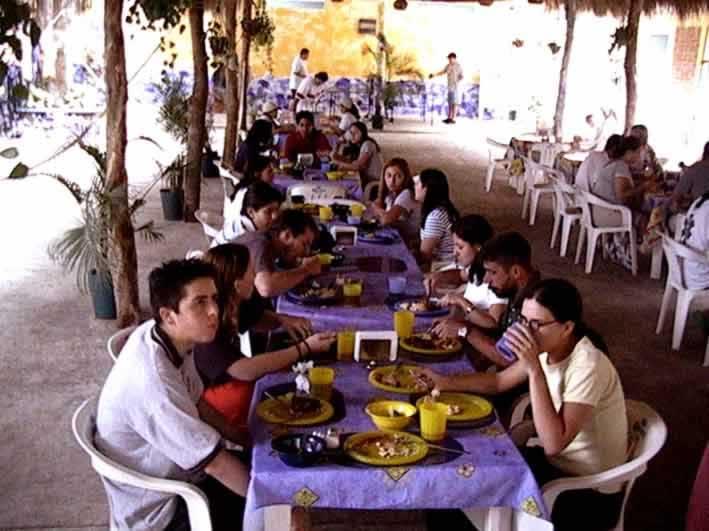 Comedor Del Campamento Del Rio Actopan Veracruz
