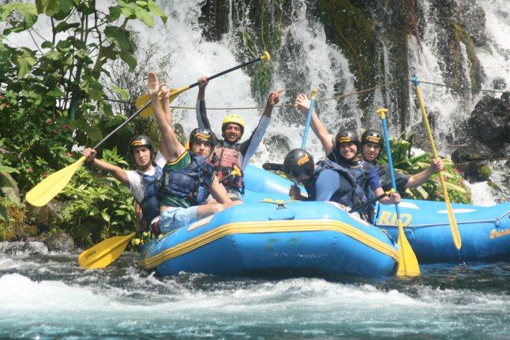 Rafting Descenso En Balsa Lancha Rápidos Del Río Actopan Ecoturismo Turismo De Aventura y Diversion En Veracruz